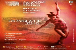 DIONISIACHE 2016 @ Teatro Greco Segesta Calatafimi   Calatafimi   Sicilia   Italia