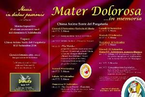 Mater Dolorosa... in memoria @ Chiesa Anime Sante del Purgatorio- Piazzetta Purgatorio- Trapani   Trapani   Sicilia   Italia